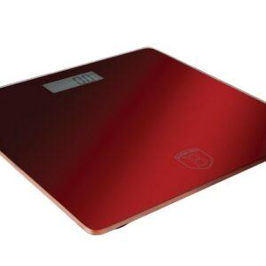 Osobní váha digitální 150 kg Burgundy Metallic Line