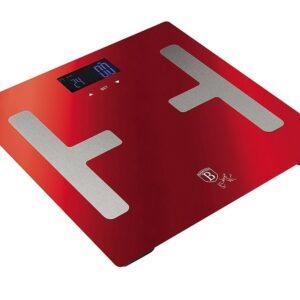 Osobní váha Smart s tělesnou analýzou 150 kg Burgundy Metallic Line