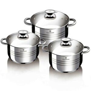 Sada nádobí nerez 6 ks Gourmet line BLAUMANN BL-3160