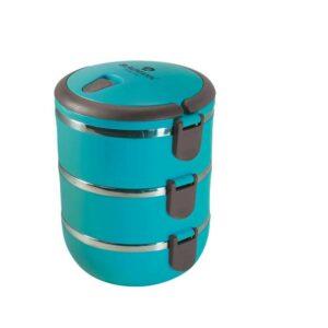 Jídlonosič třípatrový modrý BLAUMANN BL-3440modr