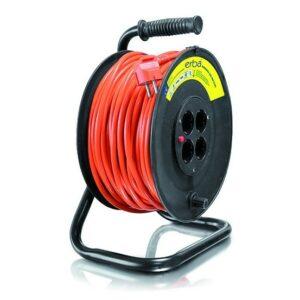 Prodlužovací kabel na bubnu 40 m ERBA ER-11058