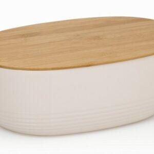 Chlebník NAMUR plast / dřevo béžová KELA KL-12061