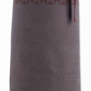 Zástěra HENRIK 100%bavlna hnědá KELA KL-12291