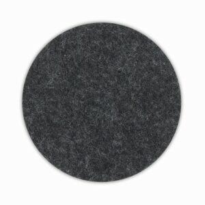 Podtácek ALIA filc sada 4ks tmavě šedá KELA KL-12333