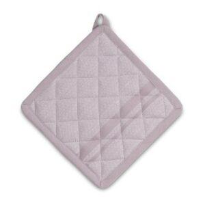 Chňapka čtvercová TIA 100% bavlna starorůžová