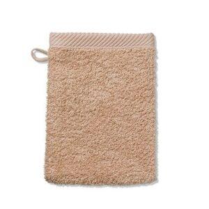 Žínka LADESSA 100% bavlna 15 x 21 cm pudrová