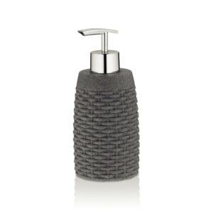 Dávkovač mýdla ALEXIA poly šedá H 17cm / Ř 7cm / 300 KELA KL-24141