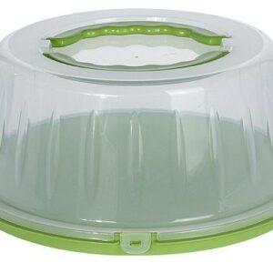 Box na potraviny s víkem přenosný zelená EXCELLENT KO-030000370