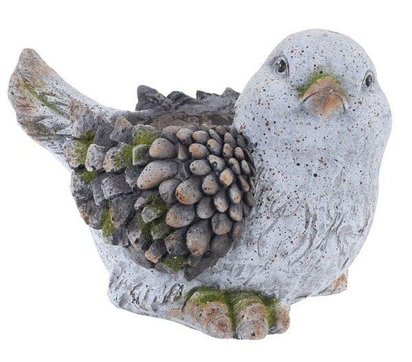 Květináč dekorativní pták MgO