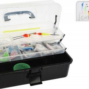 Rybářský box s vybavením Tackle Box 115 ks