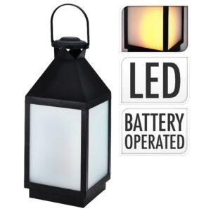 Lucerna s LED plamenem 47 cm