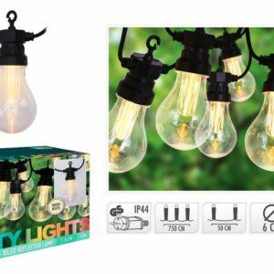 Světelný řetěz PARTY venkovní 10 žárovek
