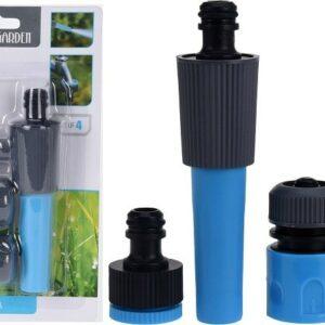 Tryska a spojky na zahradní hadici sada 4 ks PROGARDEN KO-C22280230