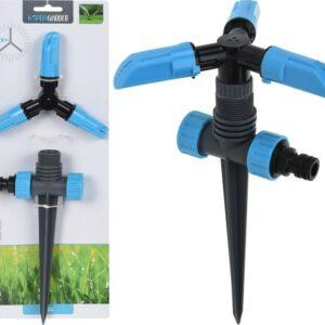 Zavlažovač zahradní třícestný rotační s hrotem PROGARDEN KO-C22280300