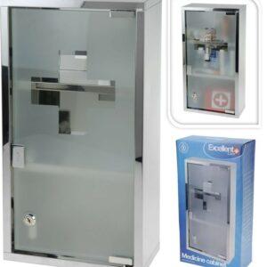 Lékárnička na zeď 25x12x48 cm EXCELLENT KO-C80820140