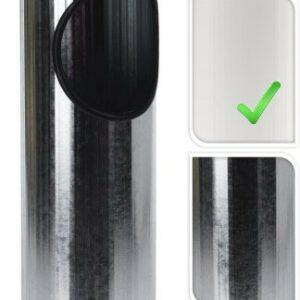 Venkovní popelník a koš 2v1 bílá PROGARDEN KO-C80820500bi