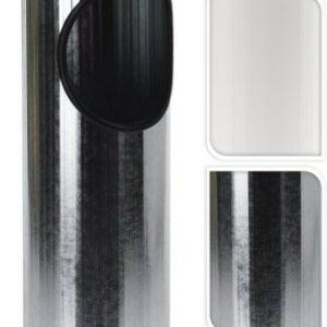 Venkovní popelník a koš 2v1 černá PROGARDEN KO-C80820500ce