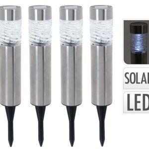 Lampa solární zahradní sada 4 ks PROGARDEN KO-DX9300100