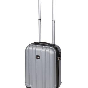 Kufr příruční na kolečkách 50 cm PROWORLD stříbrný EXCELLENT KO-FB5000050