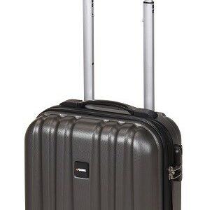 Kufr příruční na kolečkách 50 cm PROWORLD šedý EXCELLENT KO-FB5000070