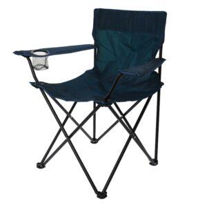 Židle kempingová REDCLIFFS skládací tmavá modrá