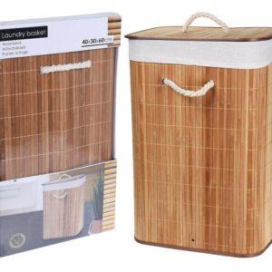 Koš na prádlo bambus 72 l EXCELLENT KO-MA3000040