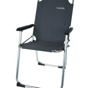 Židle kempingová REDCLIFFS šedá