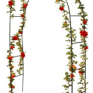 Zahradní oblouk na růže a popínavé rostliny 140 x 240 cm