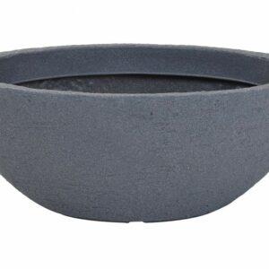 Květináč design kamene 60 x 22 cm šedá