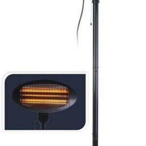 Ohřevná topná lampa stojící infrazářič 2000W