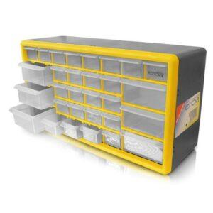 Box na součástky 30 šuplíků ERBA ER-02442