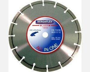 Kotouč diamantový BERGAFLEX ALL in 1 Laser 230x10x22