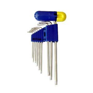 Torx klíč 9 ks ERBA ER-46017
