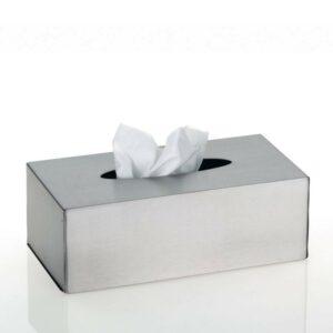 Kosmetický box na kapesníky CLEAN nerezová ocel KELA KL-18948