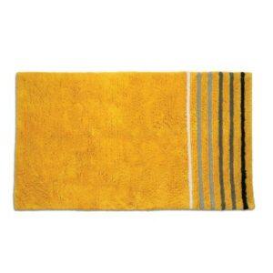 Koupelnová předložka LADESSA STRIPES 100x60 cm žlutá KELA KL-22117