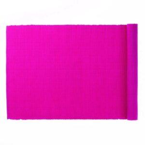 Běhoun 130 x 40 cm PUR růžová KELA KL-77800